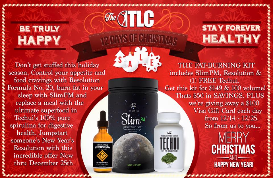 Total Life Changes Techui Christmas Promotion