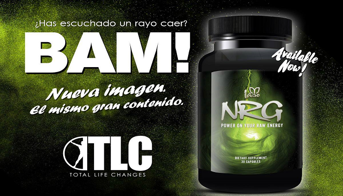 Energize Your Days With Our Total Life Changes Energy Booster, NRG!