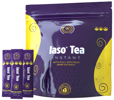 Iaso Tea Instant with Hemp Extract