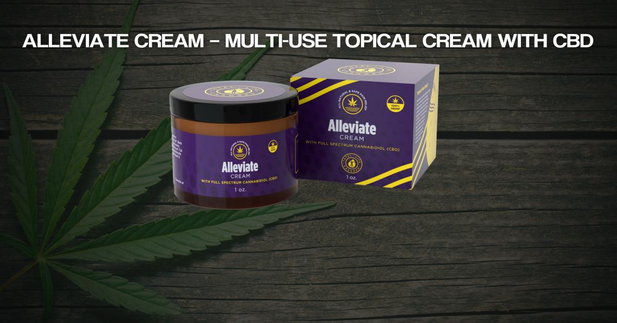 Alleviate Cream Feature Image