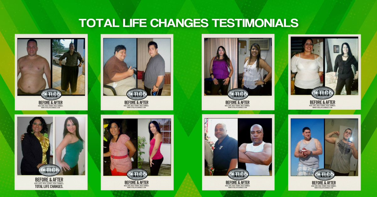Total Life Changes Testimonials